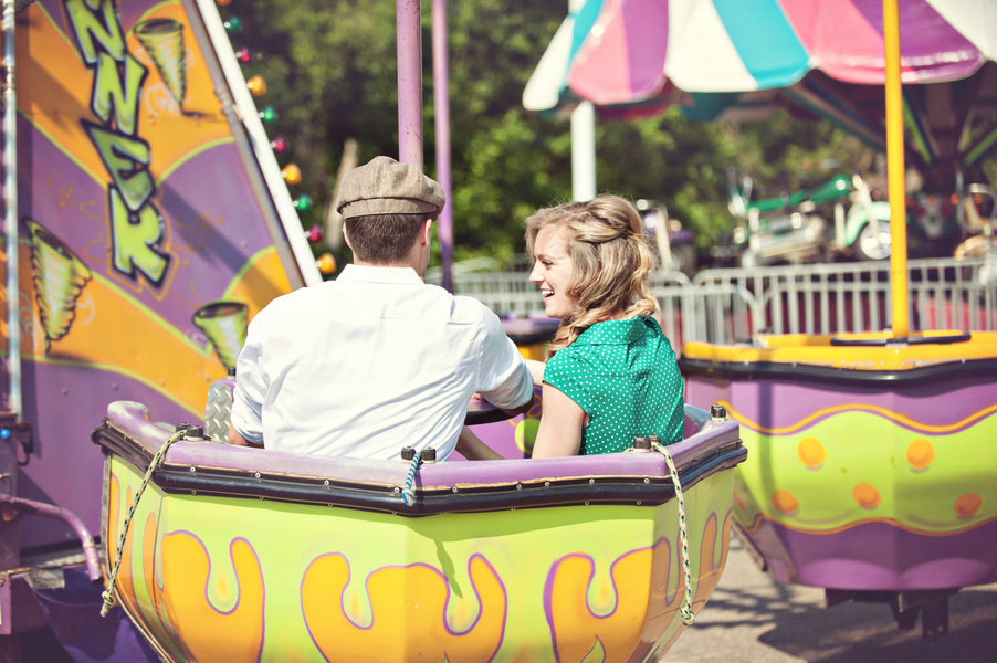 Vintage Carnival Engagement Photos Leah Moss Photography (34)