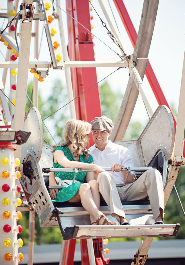 Vintage Carnival Engagement Photos Leah Moss Photography (36)