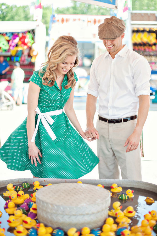 Vintage Carnival Engagement Photos Leah Moss Photography (9)