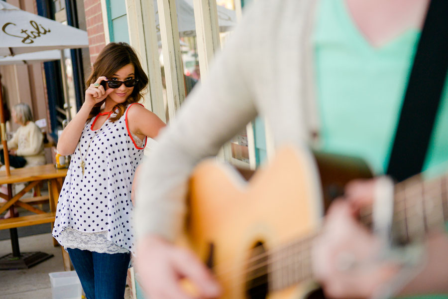 Coffee House Street Musician Engagement Session Elevate Photography (2)