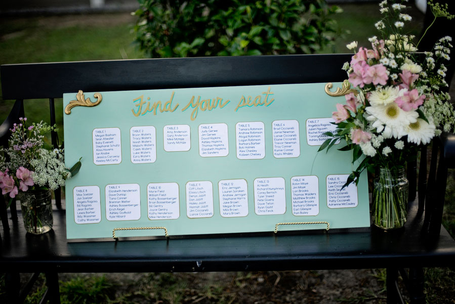 Wonderfully Eclectic Soft Mint Green Wedding Al Fresco At The Barkley House Pensacola