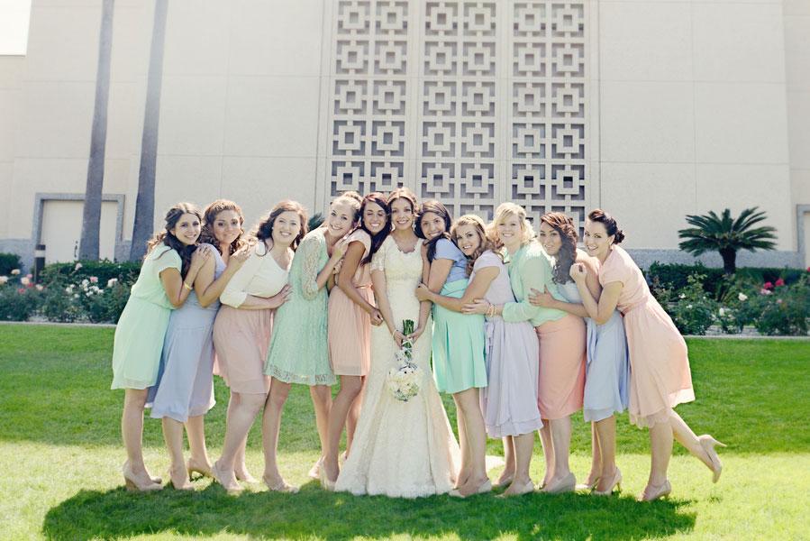 Rancho Cucamonga Elevated Backyard California Wedding AlliChelle Photography