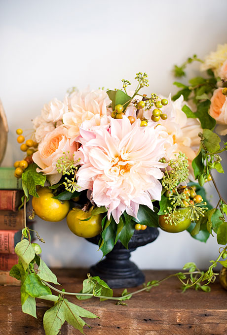 cafe au lait dahlias by poppies and posies