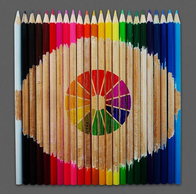 Color Pencil Color Wheel