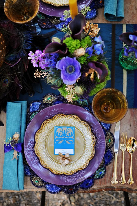 Why It Works Wednesday: Alternative Fall Color Palette In Purple, Turquoise & Gold