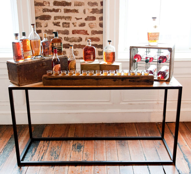 Gentlemans Wedding Featuring Southern Living With BBQ Craft Beers And Bourbon Bar Reese Moore Weddings