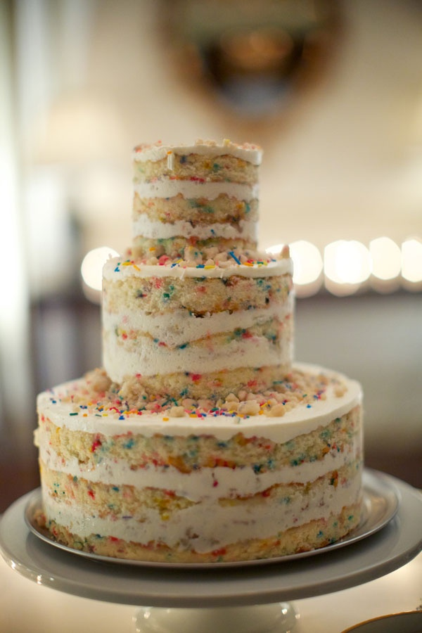 Naked Wedding Cake Birthday Cake from Momofuku Milk Bar