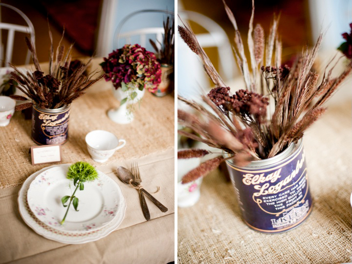 Rustic Fall Table Setting Robin Nathan Photography via Every Last Detail 2