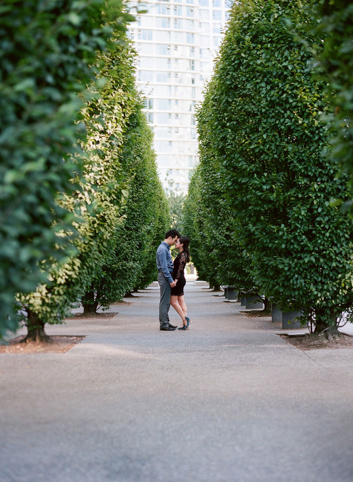 Gorgeous Twilight Engagement Session In The Urban Land Of Vancouver By Ken Tan Photo