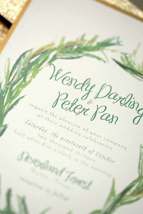 Neverland Gets A Mature Makeover As Wendy & Peter Pan Tie The Knot