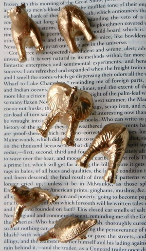 gilded golden animals 1